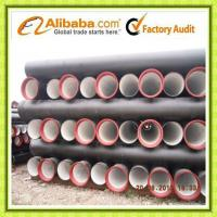 Quality Tianjin K9 DN600 ductile iron pipe wholesale