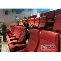 Quality Comfortable 4D Movie Theater Seats With Digital Sound System Low Noise wholesale