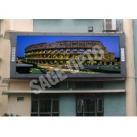 Quality High Brightness P10 Full Color LED Display Screen For Advertising , 160*160mm wholesale