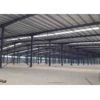 Quality Assembled Custom Design Warehouse , Prefabricated Light Warehouse Roof Structure wholesale