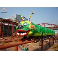 Quality Professional Amusement Park Roller Coaster , Carnival Worm Roller Coaster wholesale