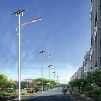 Cheap Wind Solar Street Lamp Light 60W 9m Pole (STL96060) for sale