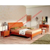 Quality Whole set of MDF melamine panel with solid wood Apartment bedroom furniture in cheap price from China millwork manufactu wholesale