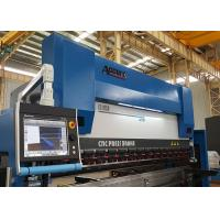 China GIVI Optical Scales CNC Press Brake Machine 4 Axis With DELEM DA66T 37KW on sale