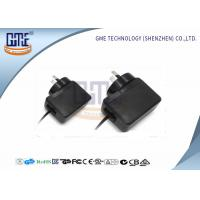 Quality Black USB Charging Adapter 0.1A - 0.7A , Wall mount Power Adapter UK Plug wholesale