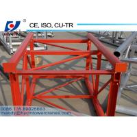 China SC200/200 Passenger Hoist Mast Section High Quality Mast Section For Construction on sale