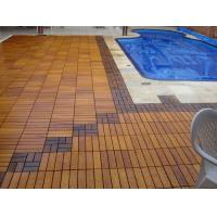 Quality High-end Garden Outdoor IPE Decking Tiles for Hotel or Private Swimming Pools wholesale