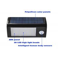 Quality 350LM 3.5 Watt Solar LED Motion Sensor Light Heatproof Intelligent Durable wholesale