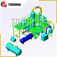 Quality Used Car Oil Distillation Refinery Machine / Waste Engine Oil Recycling Distillation Plant wholesale