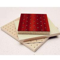 Quality Natural Wooden Perforated Acoustic Soundproofing Panels For Studio Room wholesale