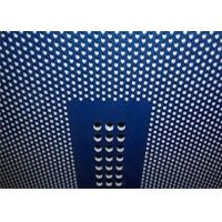 China Decorative Perforated Metal Mesh Plate Hot Galvanized For Ceiling Panels on sale