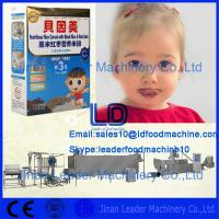 Quality ISO9001 CE Certified Nutritional baby rice powder machine/baby rice powder production line wholesale