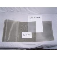 """Quality Fine Stainless Steel 304 316 Wire Cloth, 120Mesh Plain Weave 0.0026"""" Wire 48"""" Wide wholesale"""