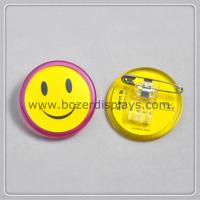 Smile ID Badge Holder With Clip for sale