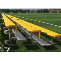 Quality Light Weight Aluminum Stadium Bleachers Portable Outdoor Seat Color Optional wholesale