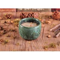 Quality Glazed Different Colors Ceramic Candle Holder for Home Decor wholesale