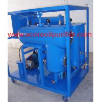 China Price Mobile Oil Filtration Unit For Cleaning Hydraulic Lube Oils on sale