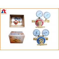 Quality Stainless Steel Oxygen Propane Single Stage Gas Regulator For Gas Distributors wholesale