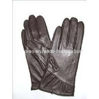 Quality Brown Classical Sheepskin Gloves (CF2681) wholesale