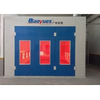 Quality Car Paint Spray Booth Centrifugal Fan Infrared Heating Separate Control wholesale