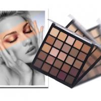 Quality Highly Pigment Brown Eye Shadow 25 Colors Mixed Matte and Shimmer Eyeshadow 25b wholesale