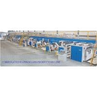 China High Speed Layer Corrugated Paper Board Pre Press Equipment Production Line on sale