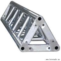 China Speaker Aluminum Triangle Truss Bolt System For Display Truss on sale