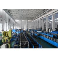 Quality 3kw 350 H Steel Frame Door Frame Roll Forming Machine High Frequency wholesale