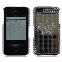 New Design Cell Phone Bling Case for Iphome 4