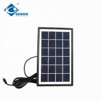 China ZW-3W-6V-2 Glass Laminated transparent solar panels battery charger 6V portable power station 3 Watt on sale