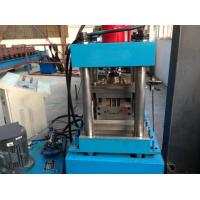 Buy cheap 3 Tons Decoiler Shutter Door Frame Roll Forming Machine 40GP Container Maximal to 1.2mm product