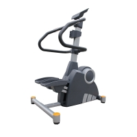 Quality Indoor Cross Trainer Gym Machine , Elliptical Glider Exercise Machine 12 Selected Programs wholesale