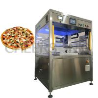 Quality Pizza Cutting Ultrasonic Food Cutter Equipment , Cake Slicing Machine Easy Operation wholesale