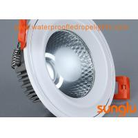 Quality 9W White Sprayed COB LED Downlight 85 - 265V For Home Decoration ROHS Approved wholesale