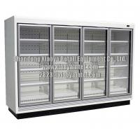Buy cheap Commercial Super Market Glass Door Grocery Store Freezers CE Certificate from wholesalers