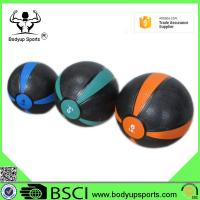 China 100% Natural Rubber Exercise Medicine Ball Multi Weight Sizes Long Using Life on sale