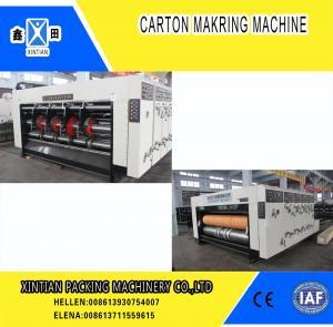 Quality High Precision Carton Making Machine / Paper Die Cutting Machines , 2800mm Inboard Width wholesale