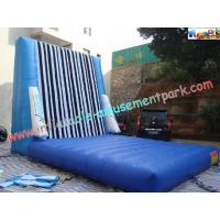 PVC Tarpaulin Inflatable Sports Games , Velcro Sticky Walls