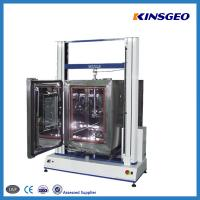 Quality 1000KN Tensile Testing Tester , Double Pole PVC Testing Equipment with Speed 0.1-500mm/min wholesale