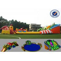 30m Amazing Inflatable Water Parks Eco-friendly Fire Resistance