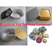 China lacquered aluminium foil  for cat food container  8011  o on sale