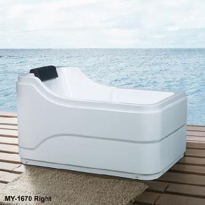 Quality Acrylic Plain Bathtub in Simple European Style (MY-1670) wholesale