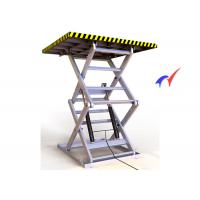 Buy cheap Double Forks Fixed Scissor Lift 900 × 900mm Platform Hydraulic Cargo Lift from wholesalers