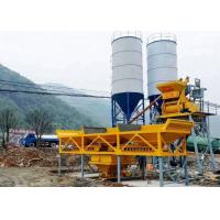 China HZS35 Ready Mixed Cement Concrete Batch Plant Simple Structure 1200L Charging Volume on sale