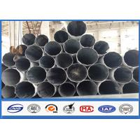 Quality Galvanized Substation Power Transmission Pole with Steel Q345 Gr50 Material wholesale