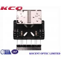 Quality Aerial 1*8 PLC Fiber Optic Splitter Box Outdoor Waterproof KCO-GJS08 For FTTH GPON ABS PP wholesale