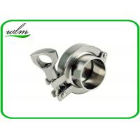 "Quality SMS3017 Sanitary Tri Clamp Fittings Aseptic Clamp Pipe Coupling 1""-4"" wholesale"