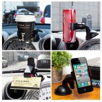 Buy cheap 360° Rotating Desktop Phone Holder Stand Bracket For IPhones Powerful Suction from wholesalers
