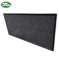 Quality Honeycomb Activated Carbon Air Filter Aluminium Frame For Air Purification wholesale