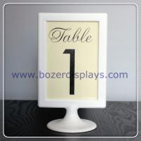 Table Number Sign for sale